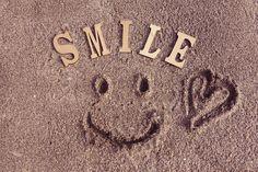文字アート『SMILE』