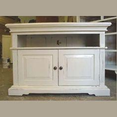3749 Solid Wood T.V. Unit - £175