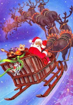 382 best the magic of santa and his reindeer images on pinterest in