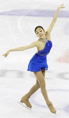 Kim Yu-Na, Olympic Figure Skating Gold Medalist at the 2010 Winter Olympics in Vancouver.
