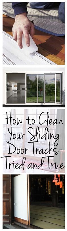 How to Clean Your Sliding Door Tracks- Tried and True