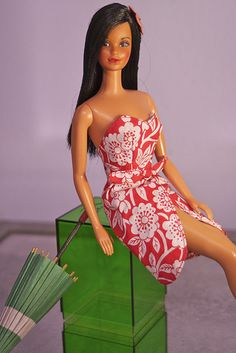 Hawaiian Barbie - I had her when I was younger. But mine had hair to her feet! She was my favorite.