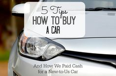 Buying a car is expe