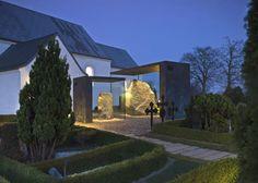 Covering of the Runic Stones in Jelling, Denmark by NOBEL Arkitekter