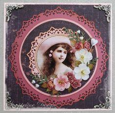 Snuppeline. Vintage card.