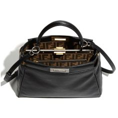 Fendi  Peekaboo - Small  Goatskin Leather Satchel   Nordstrom ( 3,400) 5481a16eab