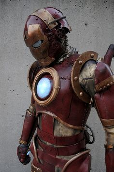 Steam punk Iron Man. Bad ass.