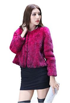 YR Lover Women's Winter Warm 100% Real Knitted Mink Fur Coat  http://www.yearofstyle.com/yr-lover-womens-winter-warm-100-real-knitted-mink-fur-coat/