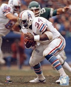 Earl Campbell Houston Oilers