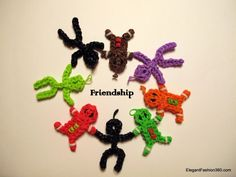 Rainbow Loom Stickman Friends Charms  ♥ Check out my web site: http://elegantfashion360.com ♥ Tutorials on yourTube channel: https://www.youtube.com/user/ElegantFashion360   ♥ Like us on Facebook: http://on.fb.me/1bz2WYi ♥ Follow us on Tiwitter: https://twitter.com/asianais Creativity is an Attitude!!! Good Luck!