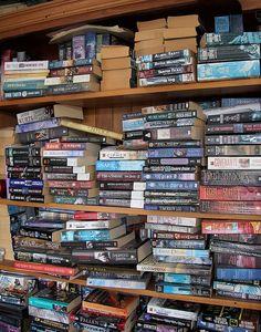 my idea of an amazing bookshelf heh