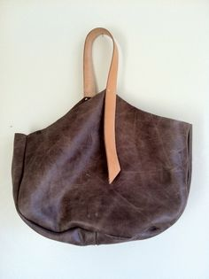 Image of Single Strap Leather Bag