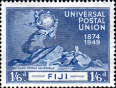 Fiji 1948 Royal Silver Wedding SG 270 Fine Mint                    SG 270 Scott 139
