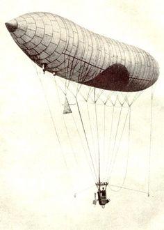 * Dirigível nº 1 * Santos Dumont.