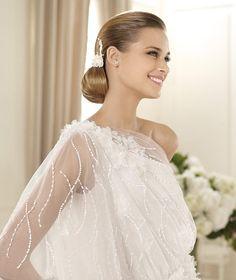 Bridesmaid Dresses, Wedding Dresses, Bridal - Pronovias Manuel Mota 2013 gelinlik modelleri (1)