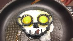 해골 계란후라이 베이컨 만들기 재미 동영상 포핀쿠킨 가루쿡 미니어쳐 식완 요리놀이 과자 장난감 코나푼 소꿉놀이 interestin...
