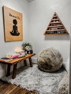 Zen Room Decor, Meditation Room Decor, Yoga Decor, Meditation Corner, Meditation Space, Meditation Altar, Home Yoga Room, Yoga Bedroom, Zen Bedrooms