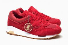 SAINT ALFRED × NEW BALANCE 1500 RED #sneaker