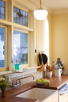 Craftsman kitchen - traditional - kitchen - portland - Buckenmeyer Architecture