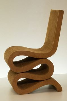 The Wiggle Side Chair by Frank Gehry