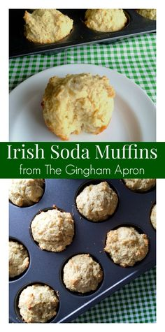 Soda Muffins Perfect for St. Patrick's Day or for any day! Light, fluffy, and simple: Irish Soda Muffins.Perfect for St. Patrick's Day or for any day! Light, fluffy, and simple: Irish Soda Muffins. Cupcakes, Bread Recipes, Cooking Recipes, Vegan Recipes, Cooking Cake, Dinner Recipes, Irish Bread, Detox Kur, Gourmet