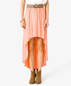 #Forever21                #Skirt                    #Knit #High-Low #Skirt #FOREVER21 #2034941783       Knit High-Low Skirt | FOREVER21 - 2034941783                                  http://www.seapai.com/product.aspx?PID=112990