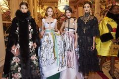 10 Things to Know About the Dolce & Gabbana Alta Moda Spring 2016 Show
