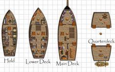 Pirate Ship Deck   Aeon Castle   Pinterest   Pirate Ships, Pirates ...