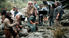 BTS - after they get out of the river.