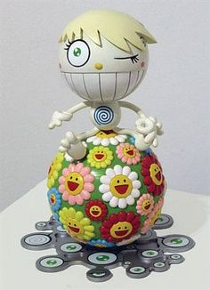 Wink by Takashi Murakami on artnet. Browse more artworks Takashi Murakami from Walton Fine Arts. Takashi Murakami Sculpture, Takashi Murakami Art, Superflat, Jeff Koons, Sculpture Projects, Hirst, Modern Sculpture, Vinyl Toys, Deco Design