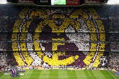 Real Madrid Tifo: Escudo.