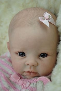 Bella reborn from a Krista sculpt by Linda Murray now living in Australia