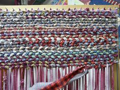 Make It Easier To Create Rag Rugs With These Plans For A Rag Rug Loom.