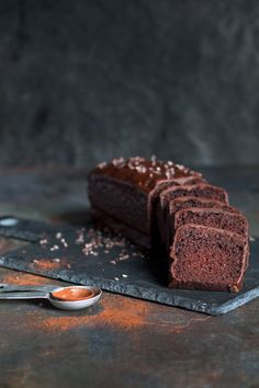 Dark Chocolate Mud Cake with Cacao Nibs
