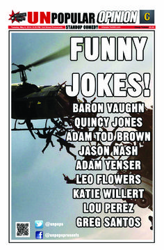 See our live stand-up show this Tuesday in Santa Monica! #UnpopularOpinion