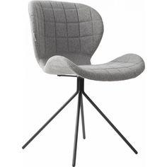 Zuiver OMG stoel lichtgrijs - Designwonen.com
