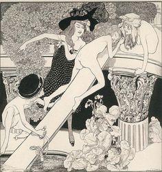 Ilustração Playboy em 1971 por Dalí