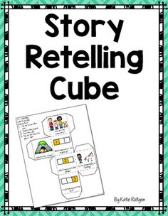 FREE Retell Cube - Use this freebie with your Kindergarten or 1st grade classroom or home school students. The cube asks students to tell the characters, setting, beginning, middle, end, and whether the story is real or not. It's great for basic reading comprehension skills, small group work, whole class instruction, and other ELA tasks. Use this to guide your class into deeper discussion.