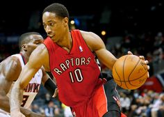 DeMar DeRozan becomes Raptors all-time leading scorer = Toronto Raptors guard DeMar DeRozan became the franchise's all-time leading scorer during Wednesday night's game against the Golden State Warriors. He entered the game needing just 15 points to surpass…..