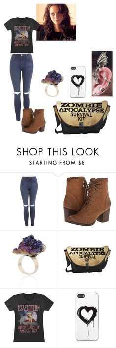 """Sem título #105"" by vic-valdez on Polyvore featuring moda, Topshop, Madden Girl, Effy Jewelry e Zero Gravity"