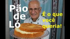 PÃO DE LÓ (Apenas 3 ingredientes – Rápido, Fácil, Perfeito) - YouTube My Recipes, Cooking Recipes, Pasta, Oreo, Breakfast, Cake, Desserts, Food, Bananas