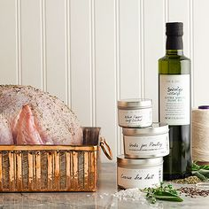 DEAN & DELUCA Thanksgiving Turkey Essentials $42 #Thanksgiving Dinner preparation just got a little bit easier. With our exclusive DEAN & DELUCA Thanksgiving Turkey Essentials we've paired everything you'll need to ensure your turkey is cooked to perfection. With our DEAN & DELUCA Herbs for Poultry, Half-Cracked Peppercorns, Sicilian Extra Virgin Olive Oil and Coarse Sea Salt the only other thing you'll need is the Free-Range Turkey.