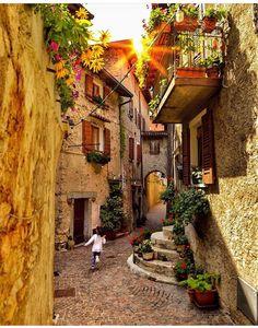 Tremosine (comuna italiana), Lombardia, Bréscia, Itália