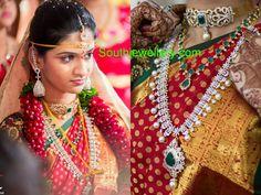 South Jewellery: Bride in Diamond Jewellery