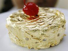 24 Karat #Gold #Cake #Food