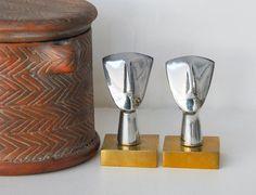 Aluminium and bronze CYCLADIC IDOL by GreekMythos on Etsy,