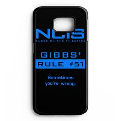 Ncis Gibbs Rule Samsung Galaxy S6 Edge Plus Case