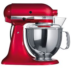 Shop a great selection of KitchenAid Artisan Stand Mixer, Empire Red. Find new offer and Similar products for KitchenAid Artisan Stand Mixer, Empire Red. Kitchenaid Artisan Stand Mixer, Red Kitchenaid Mixer, Red Kitchen Aid, Kitchen Aid Mixer, Kitchen Dining, Purple Kitchen, Kitchen Icon, Big Kitchen, Cheap Kitchen