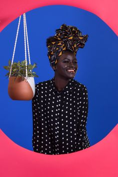 From Ghana to Brooklyn Collection Model: Khoudia Diop