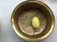 vati keltaista kuparia . copper bowl, diameter 34cm